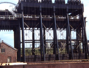Anderton canal lift, Cheshire