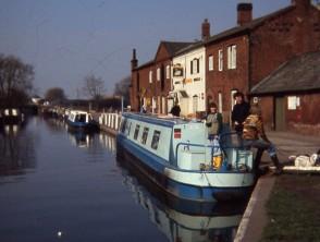 Narrow Boat 'Shropshire' on Erewash Canal