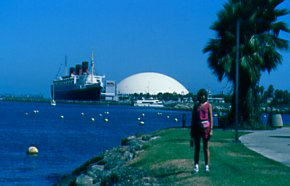 Queen Mary and the Spruce Goose