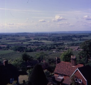 From Goudhurst church tower