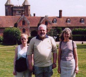 Kristin, Kiddi and Marg