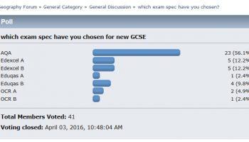 GCSE Geography (2016)