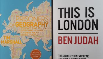 Two books with purposeful geo-stories